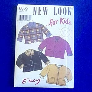 New Look for Kids EASY jacket.
